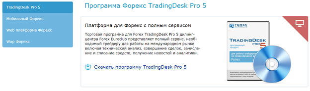 Условия торговли с Forex EuroClub
